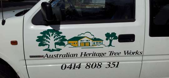Australian Heritage Tree Works Work Ute