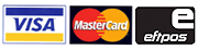 We accept Visa, Mastercard and Eftpos payments